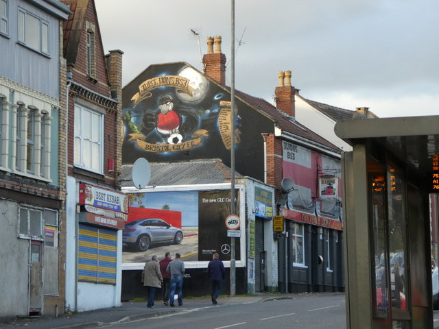 Artwork on The Three Lions BS3