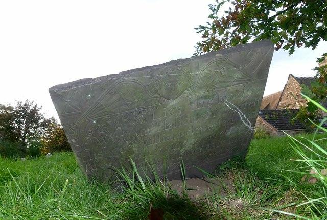 Belvoir Angel headstone, Croxton Kerrial churchyard