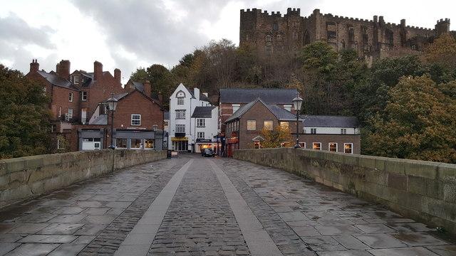 Framwellgate Bridge and Durham Castle