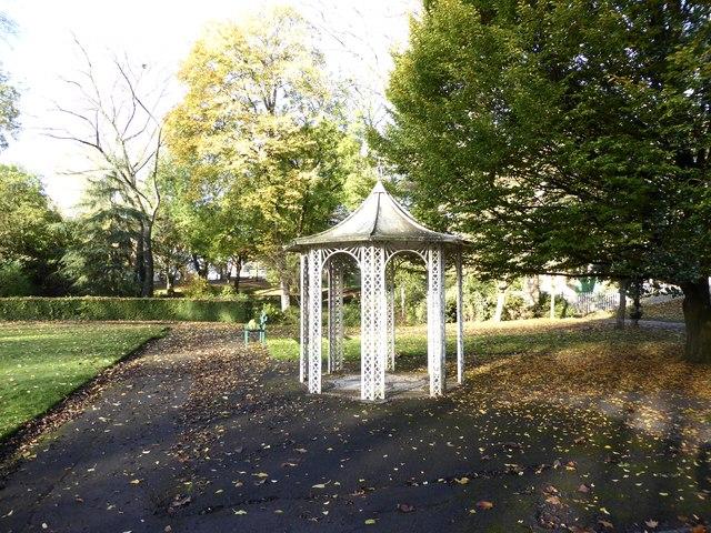Hanley Park: gazebo
