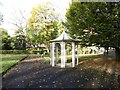 SJ8846 : Hanley Park: gazebo by Jonathan Hutchins