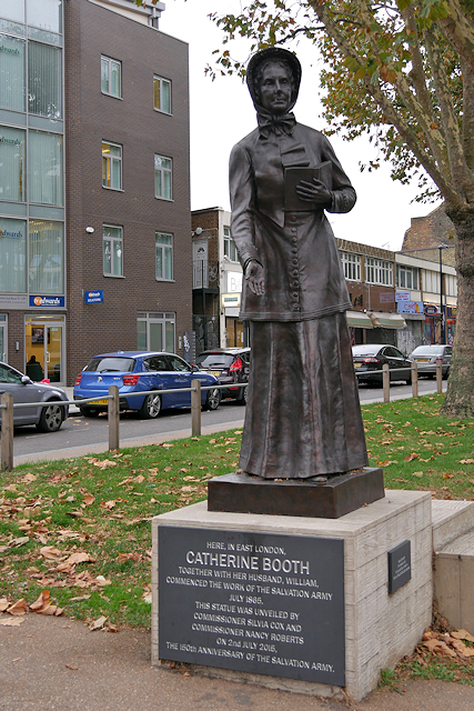 Statue of Catherine Booth