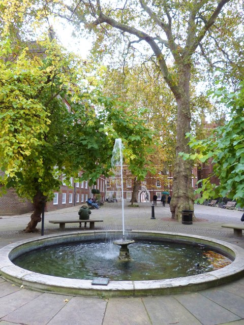 Fountain Court, part of Middle Temple, London