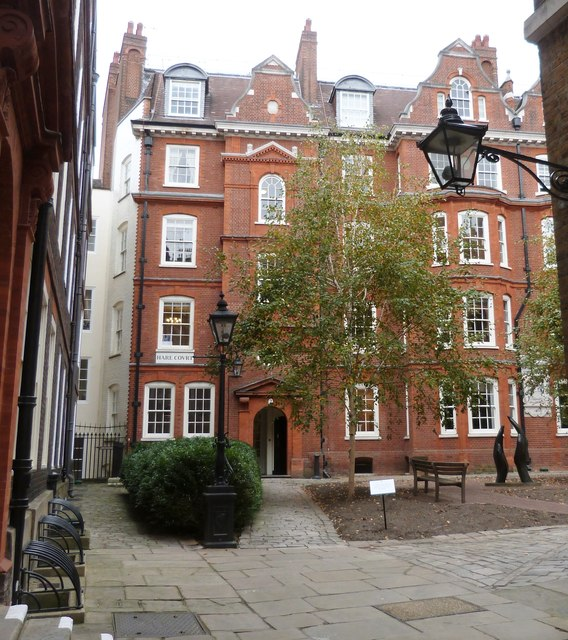 Hare Court, Inner Temple , London