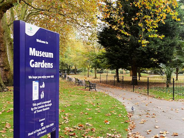 Bethnal Green Museum Gardens