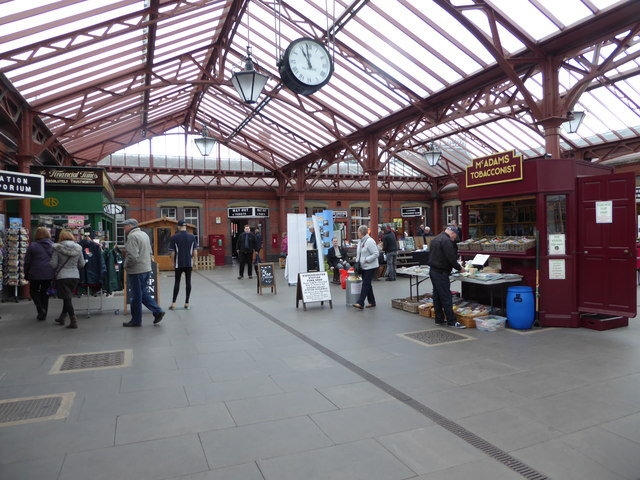 Severn Valley Railway - Kidderminster Station Concourse
