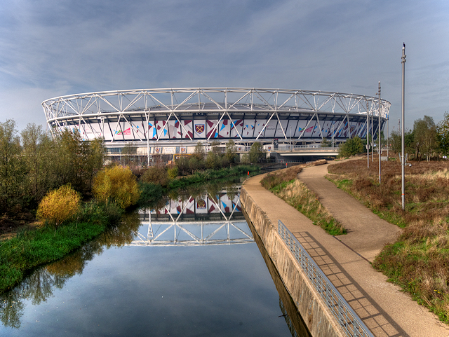 City Mill River and London Stadium
