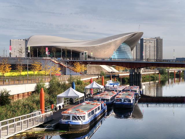 Waterworks River and London Aquatics Centre