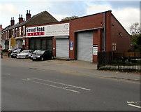 SO8317 : Stroud Road Garage, Gloucester by Jaggery