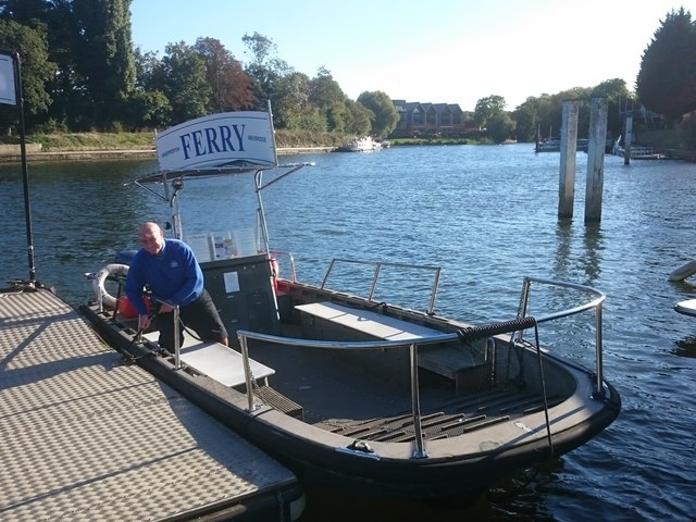 Shepperton ferry