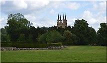 TQ5243 : Tower of St John the Baptist church by N Chadwick