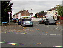 SO8317 : Northern end of Stanley Terrace, Gloucester by Jaggery