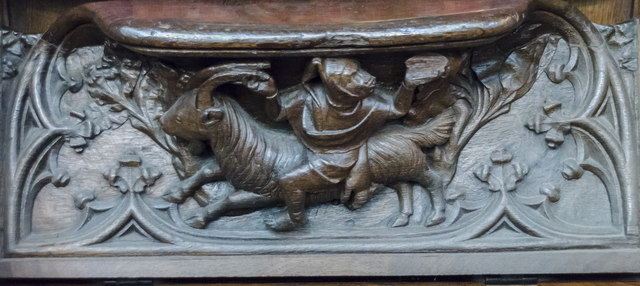 Misericord, Gloucester Cathedral