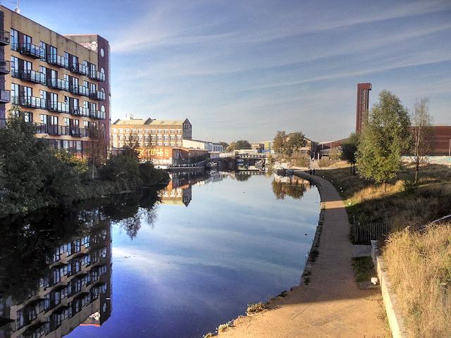 River Lee Navigation at Stratford