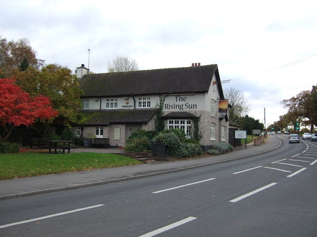 The Rising Sun public house, Wistaston