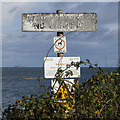 J4882 : Signs, Carnalea by Rossographer