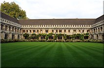SP5206 : Cloisters in Magdalen College by Steve Daniels