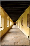 SP5206 : Cloister in Magdalen College by Steve Daniels