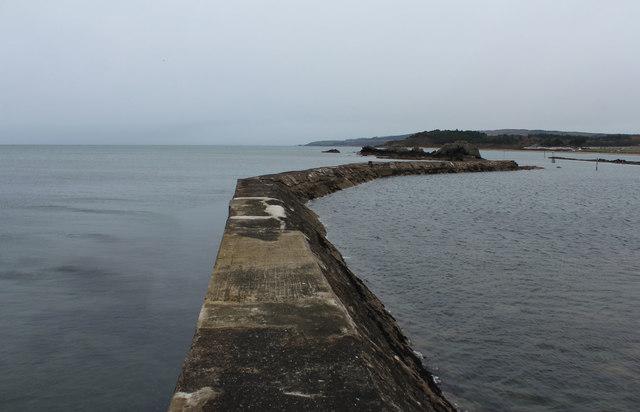 Breakwater, Maidens Harbour