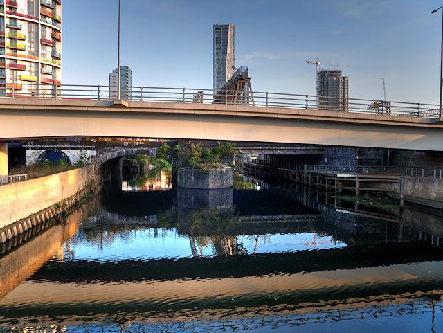 Waterworks River, Loop Road Bridge, Olympic Park