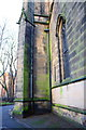 SK5904 : Buttress on tower of St George's Church by Roger Templeman