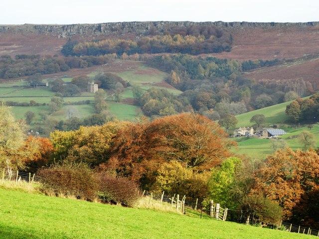 Hood Brook Valley in autumn