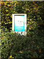 TL2015 : Stockings Springs Wood sign by Adrian Cable