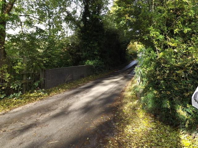 Leasey Bridge on Cherry Tree Lane over River Lea