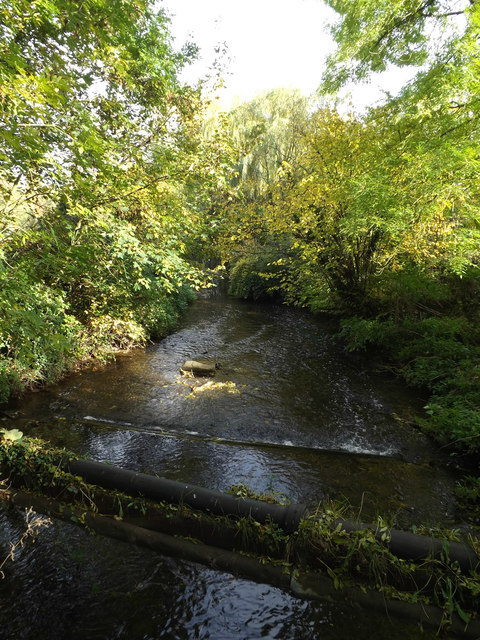 River Lea off Leasey Bridge