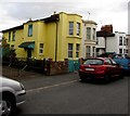 SO8317 : Yellow house, Falkner Street, Gloucester by Jaggery