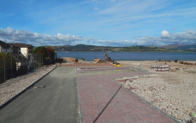 Site of Greenock Navy Buildings