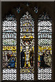 TF0307 : Stained glass window, St Mary's church, Stamford by Julian P Guffogg