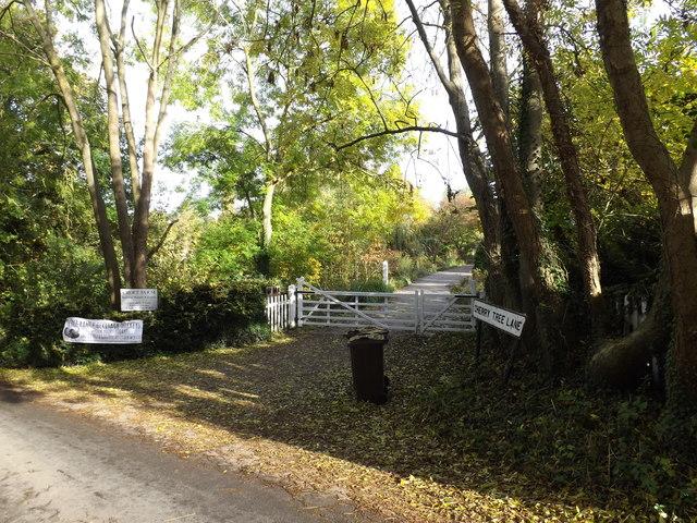 Entrance to Croft Farm