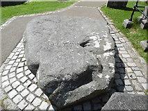 J4844 : St Patrick's Grave, Downpatrick by David Hillas