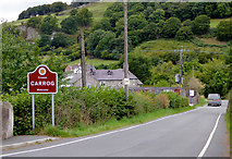 SJ1143 : Road to Carrog in Denbighshire by Roger  Kidd