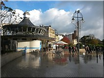 SZ0891 : Bournemouth: The Square after a brief shower by Chris Downer