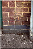 SK5319 : Benchmark on electricity substation, New Street by Roger Templeman