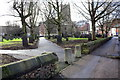 SK5805 : Footpath towards St Margaret's Church from Canning Place by Roger Templeman