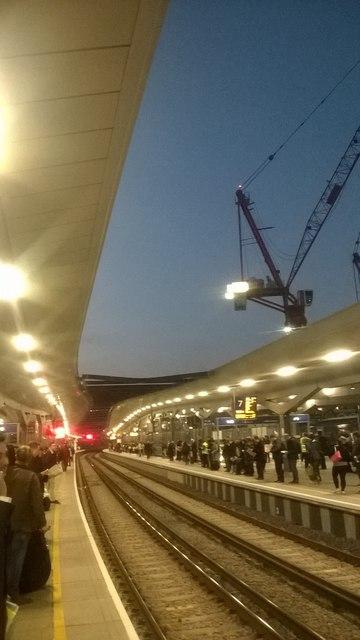 London Bridge station: new platforms 7 and 8