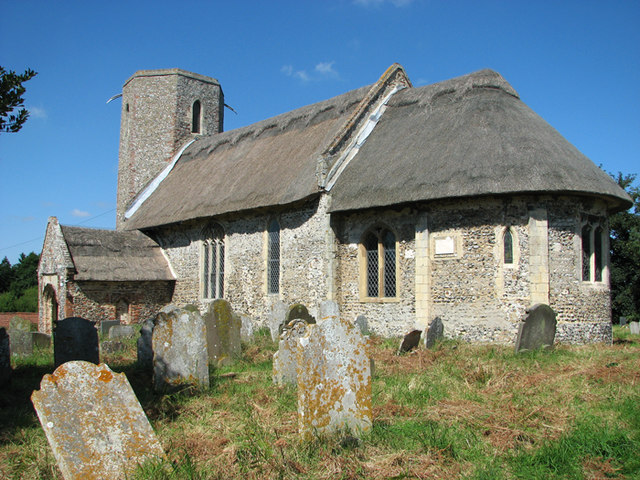 The church of St Gregory in Heckingham