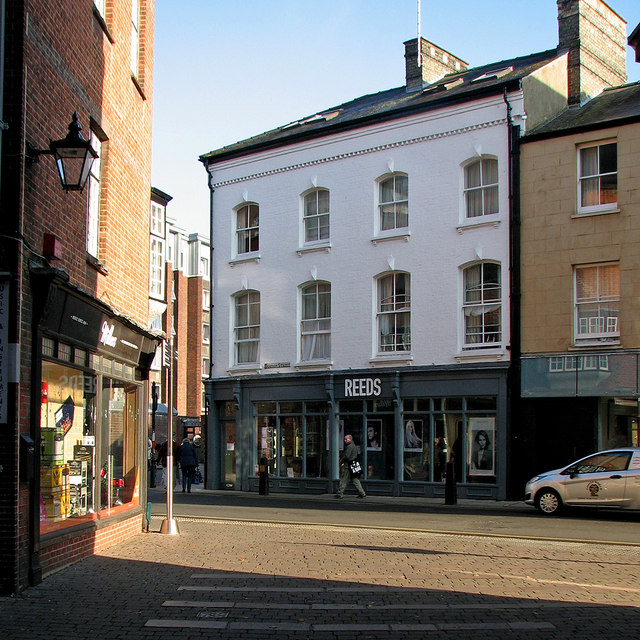 The corner of Sussex Street and Hobson Street