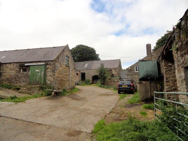 Hedley East Farm farmyard