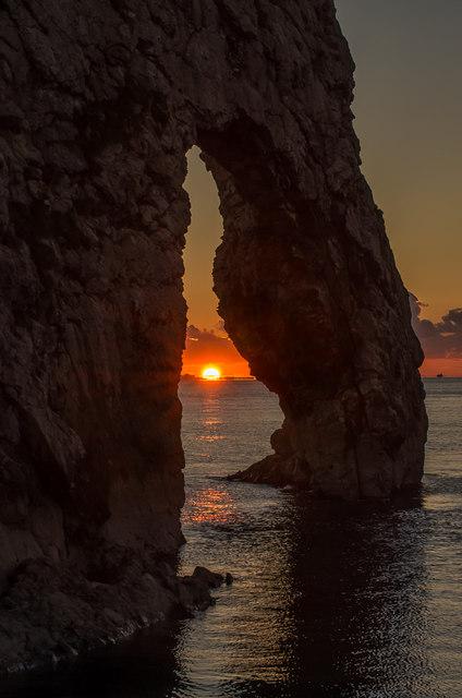 Sunset at Durdle Door