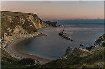 SY8080 : Man o'War Cove in twilight by Ian Capper