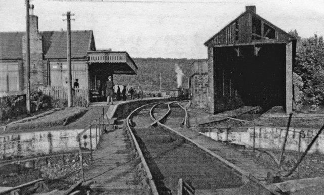 Rothbury Railway Station (1870 - 1963)