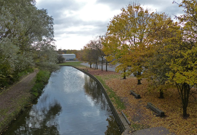 Dudley No.2 Canal at Mucklow Hill