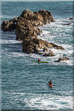 SY8080 : Kayaking in Man o'War Cove by Ian Capper