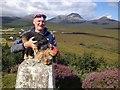 NR5671 : Ardfernal Trig Point, Jura by Dave Thompson