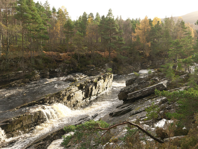 Falls on the Black Water