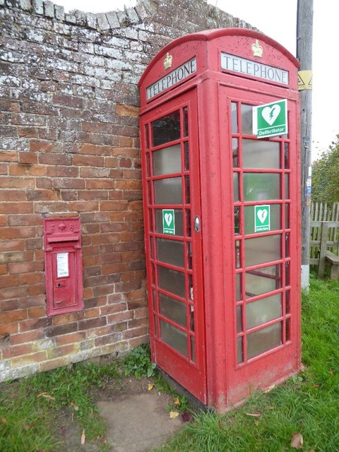 New use for a telephone box
